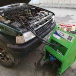 запушен радиатор за парно Opel
